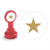 Xclamation Gold Star Stamp