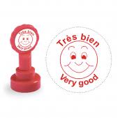 Xclamation Très Bien French Stamp