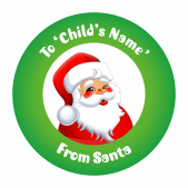 Christmas Stickers & Labels