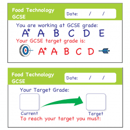 Food Technology GCSE Assessment Stickers