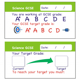 Science GCSE Assessment Stickers