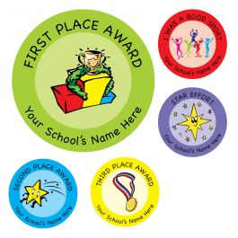 Sports Day Reward Stickers Set 1