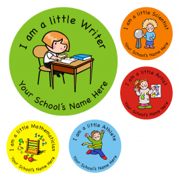An image of I am a little... Stickers