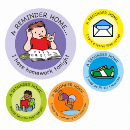 An image of Reminder Home Stickers