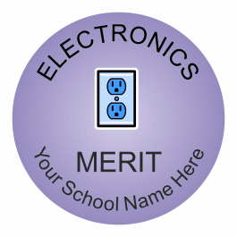 Electronics Reward Stickers