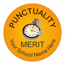 Punctuality Reward Stickers