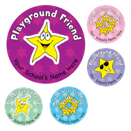An image of Playground Award Stickers
