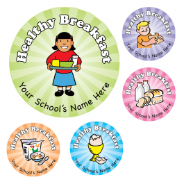 Healthy Breakfast Stickers