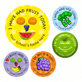 Promote Healthy Eating Reward Stickers