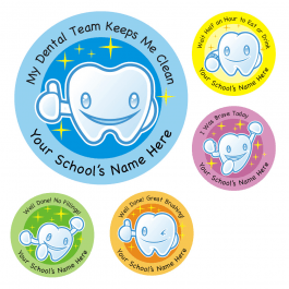 Dental Care Sticker Set 1