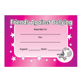 Anti-Bullying Certificate 3