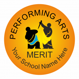 Performing Arts Reward Stickers - Classic