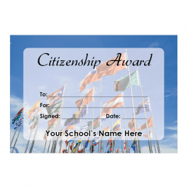 Citizenship Certificate Set 1