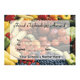 Food Technology Certificate Set 1