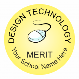 Design Technology Reward Stickers - Classic