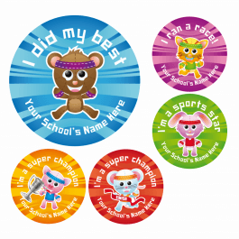 An image of Sports Day Reward Stickers Set 2