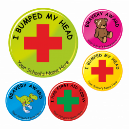Bravery Reward Stickers