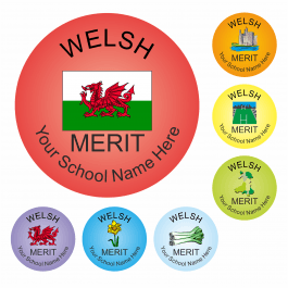 An image of Welsh Reward Stickers