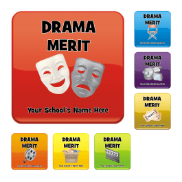 An image of Drama Square Reward Stickers
