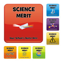 An image of Science Square Reward Stickers