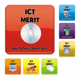 An image of ICT Square Reward Stickers