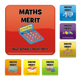 An image of Maths Square Reward Stickers