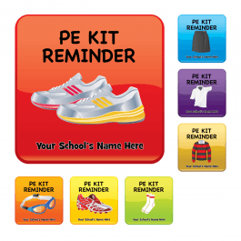 An image of PE Kit Reminder Stickers