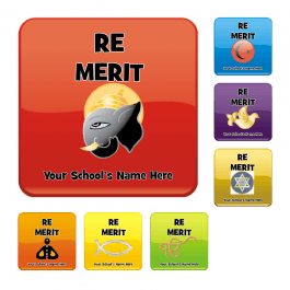 An image of RE Square Reward Stickers