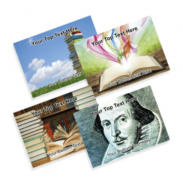English Praise Postcards