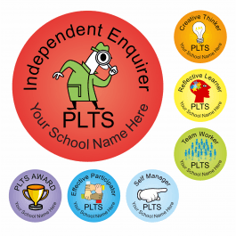 An image of PLTS Reward Stickers