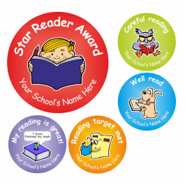 An image of Reading Award Stickers
