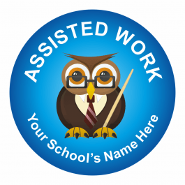 Assisted Work Stickers