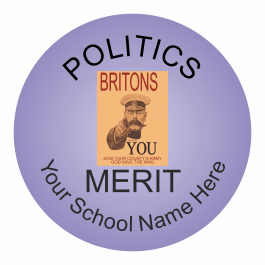 Politics Reward Stickers - Classic