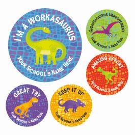 An image of Dinosaur Reward Stickers