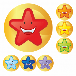 Mini Star Stickers