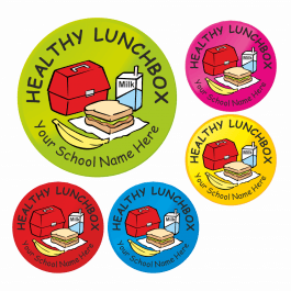 Healthy Lunchbox Reward Stickers