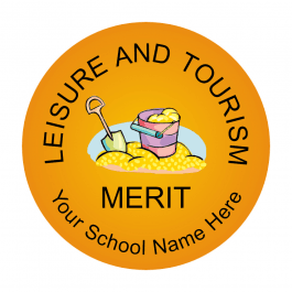 Leisure and Tourism Reward Stickers - Classic