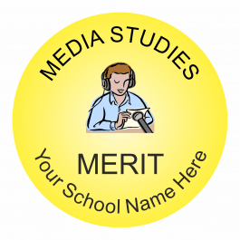 Media Studies Reward Stickers - Classic