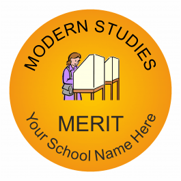 Modern Studies Reward Stickers - Classic