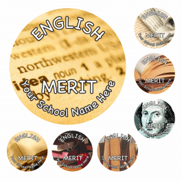An image of English Reward Stickers - Photographic