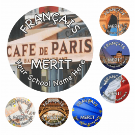 An image of French Reward Stickers - Photographic