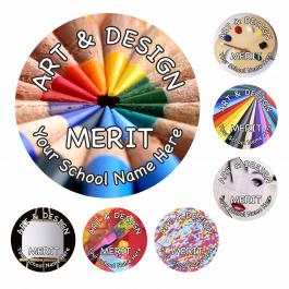 An image of Art and Design Reward Stickers - Photographic