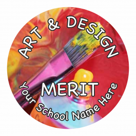 Art and Design Reward Stickers - Photographic