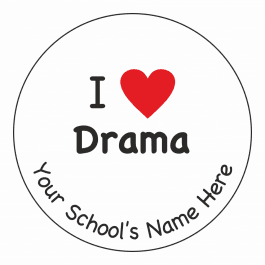 An image of I Heart Drama Stickers