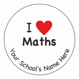 An image of I Heart Maths Stickers