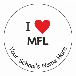 An image of I Heart MFL Stickers