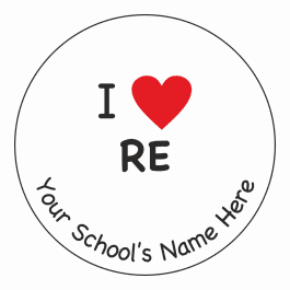 An image of I Heart RE Stickers
