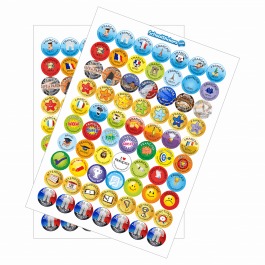 An image of French Reward Stickers - Variety Pack