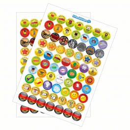 An image of German Reward Stickers - Variety Pack