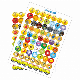 Spanish Reward Stickers - Variety Pack